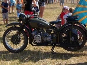 Отреставрированный мотоцикл