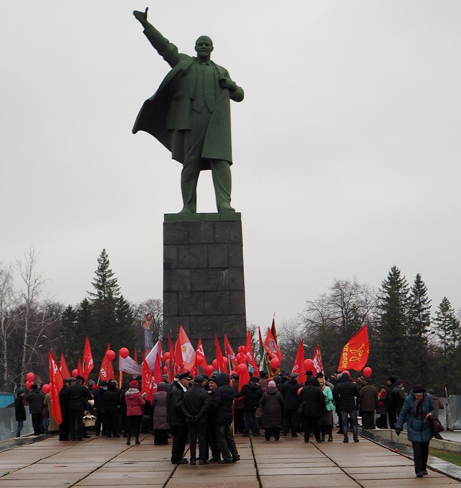 Митинг КПРФ 7 ноября в Уфе